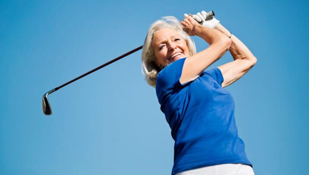 Bonita Terra Resident Golfing in Florida